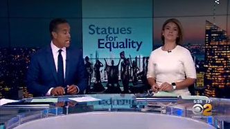 CBS - Statues for Equality NYC Launch