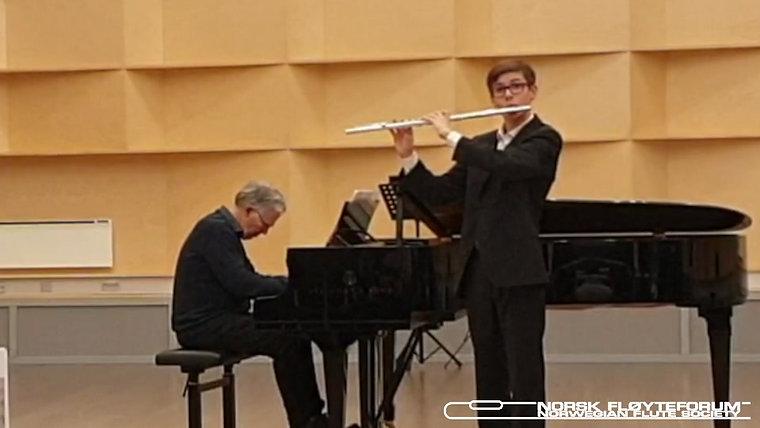 Vinnerne fra 3de Nasjonale Fløytekonkurranse 2019