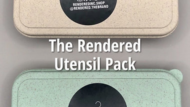 Rendered Utensil® 2-Pack *RENDERED ONLY - Online Exclusive*