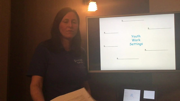 Lesson 3 - Theory of Youth Work