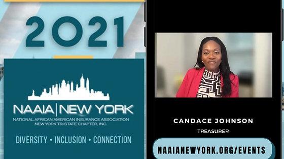 Candace Johnson NICE 2021