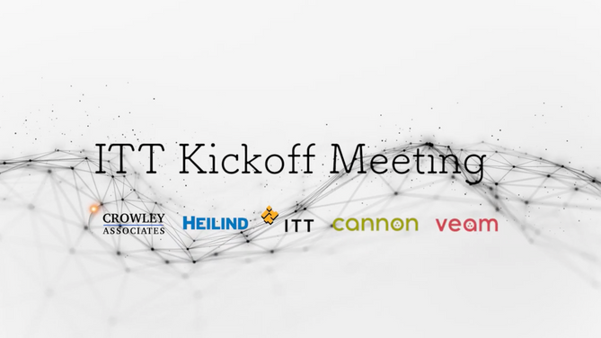 ITT Kickoff Meeting