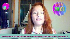 VOTE 61 - LISTA DECISIÓN CIUDADANA - KATHERINE MURIEL ALARCÓN GIADACH