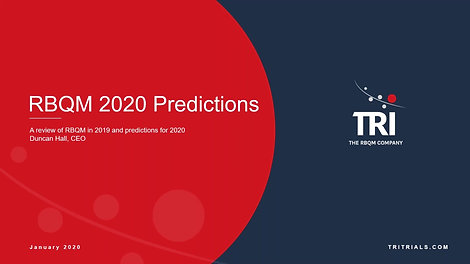 RBQM Predictions for 2020
