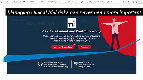 TRI Risk Assessment & Controls Oct 2020