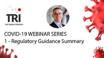 COVID-19 Regulatory Guidance Summary March 2020