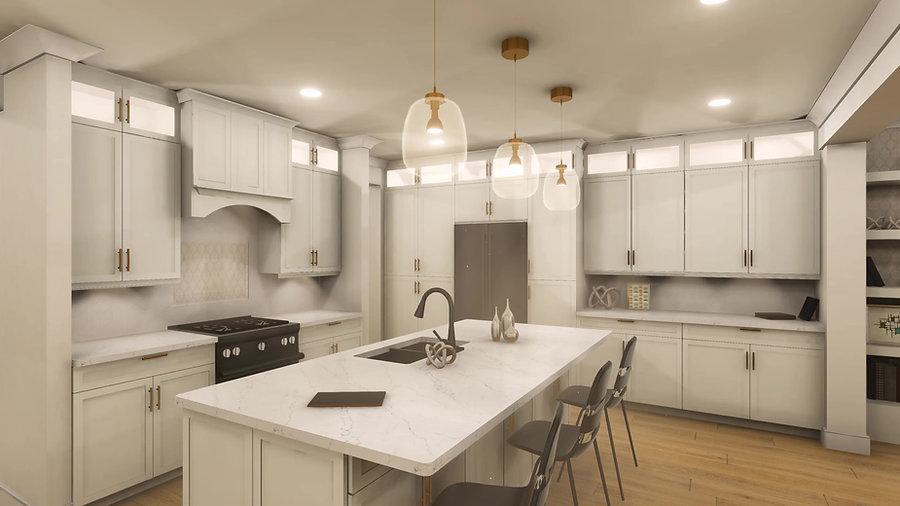 Interior Kitchen Fly-Through