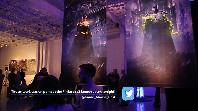 WB Games - Injustice 2 Release Party