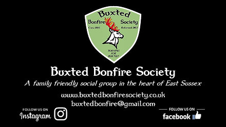 Buxted Bonfire Society 2017 - 2018