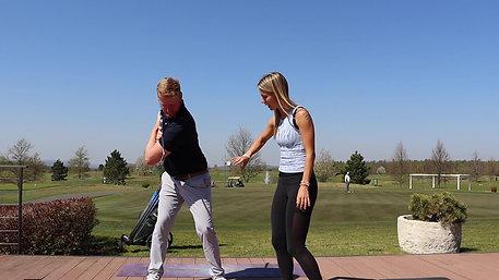 Joga pro golfisty - švihová sekvence