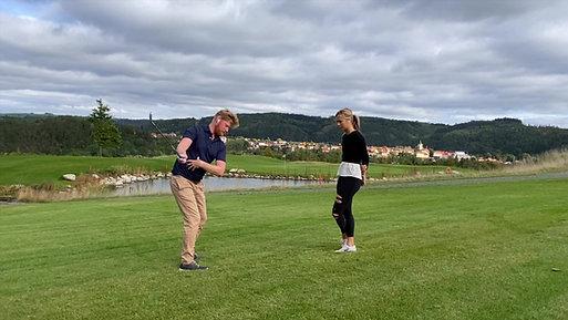 Jóga pro golfisty - Golfový postoj & Představení