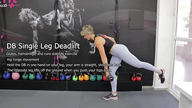 DB Single Leg Deadlift