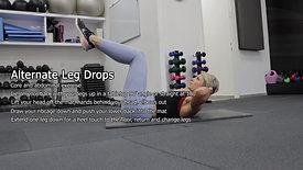 Alternate Leg Drops