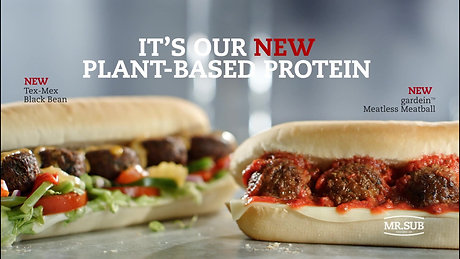 "Mr. Sub ""Plant Based Protein"""