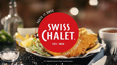 """Swiss Chalet """"Fish & Chips"""" commercial"""