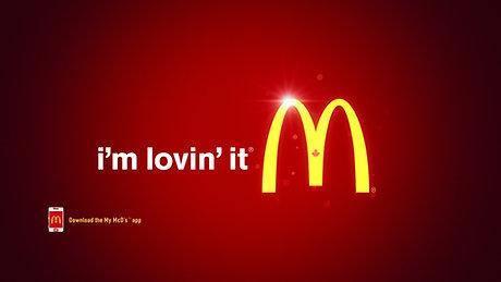"McDonalds ""Blue Tongues"" commercial"