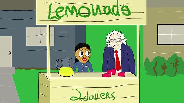 AOC's Lemonade stand