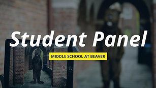 Middle School at BVR: Admission Information Event