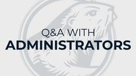Q&A with Beaver administrators