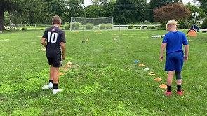 Agility and Ball Control Race