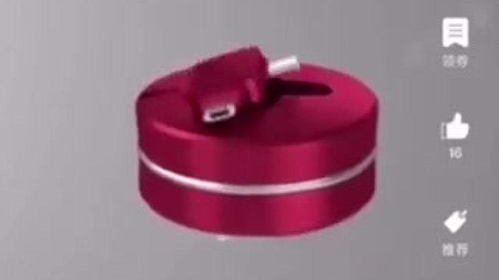 马卡龙三合一苹果安卓Cable