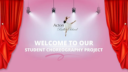 Student Choreography Project - G2-G7