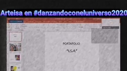 ArteIsa en #DanzandoConElUniverso2020