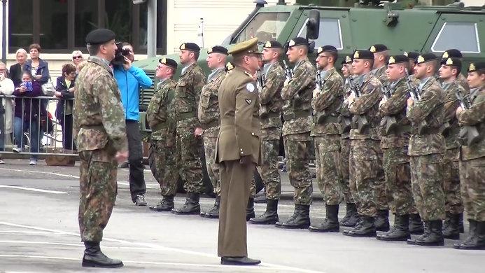 Militärparade Diekirch 21.06.2016