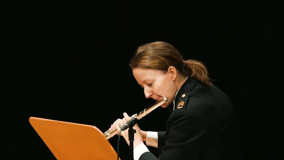 Flight Of The Bumblebee R Korsakov arr AvLeeuwen Luxembourg Military Band Flute Ensemble