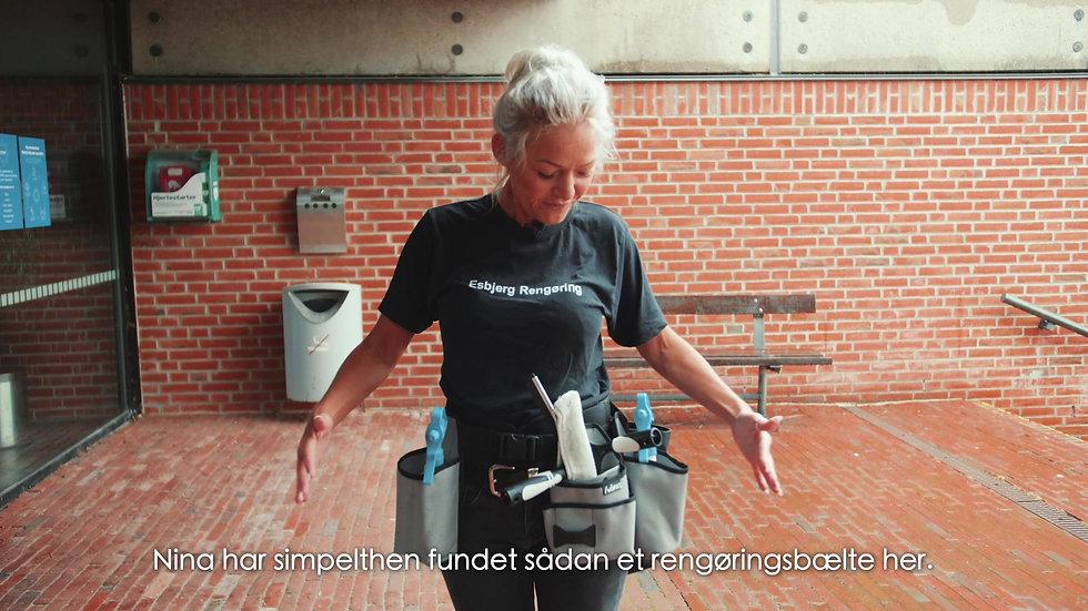Esbjerg Rengøring - Værktøjsbælte