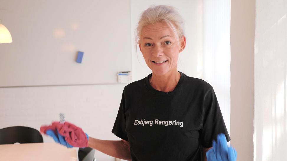 Esbjerg Rengøring - bagom Liv