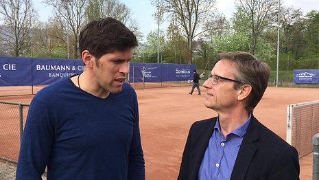 Interview Beni Huggel Marketingleiter Tennis an der Birs AG