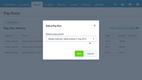 Xero | Single Touch Payroll (STP) Opt-in Demonstration