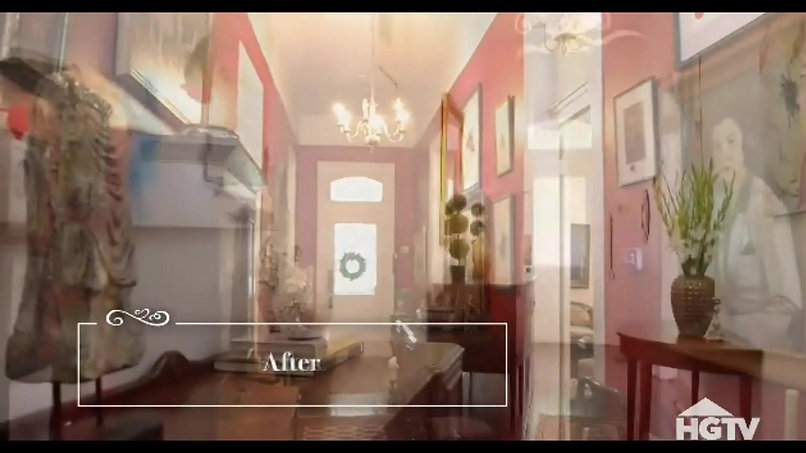 Our staging featured in HGTV Show ''Selling the Big Easy''.