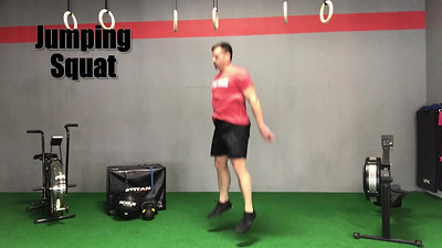 T28 Jumping Squats