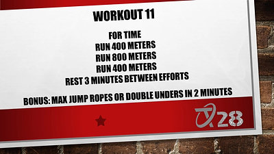T28 Challenge Workout 11