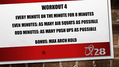 T28 Challenge Workout 4