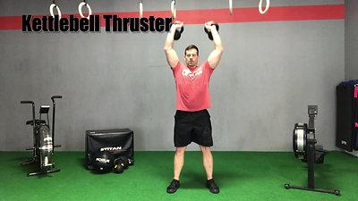 T28 Kettlebell Thruster