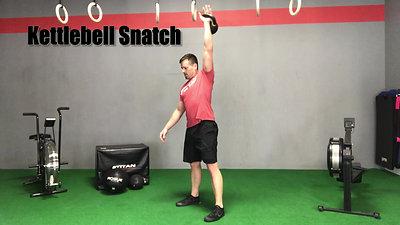 T28 Kettlebell Snatch