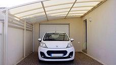 Pose d'un abri voiture à Pisany en Charente Maritime