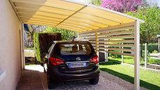 Abriter votre voiture avec un abri en aluminium sur la Charente-Maritime dans le 17.