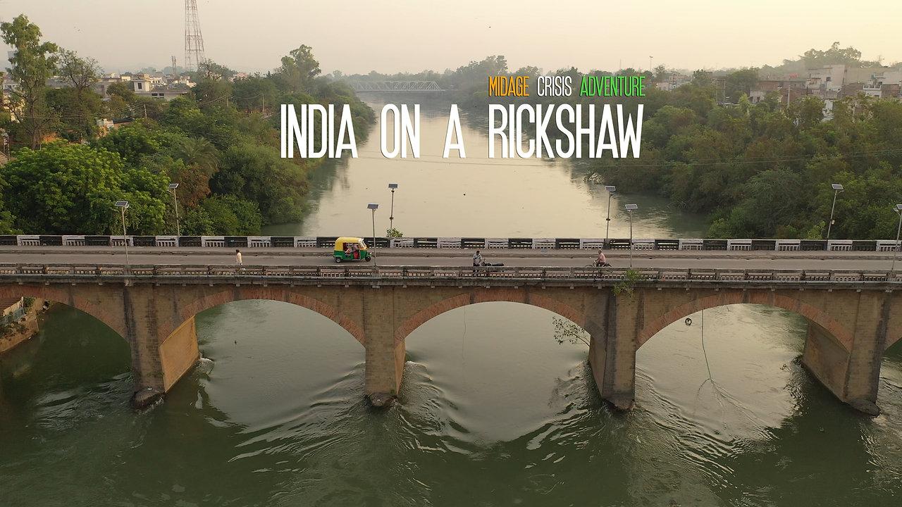 India on Rickshaw
