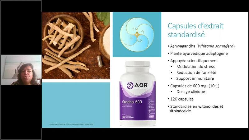 Module 1 - Introduction aux produits de santé naturels -Les formes Galeniques