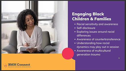 Clinical Tips for Working with Black Children and Families