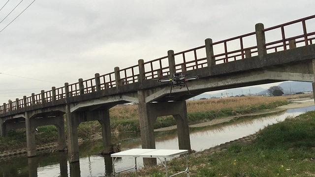 事例1:橋脚撮影