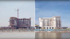 St.Regis Astana Year Timelapse