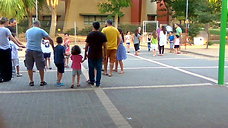 פעילות בשילוב הורים וילדים