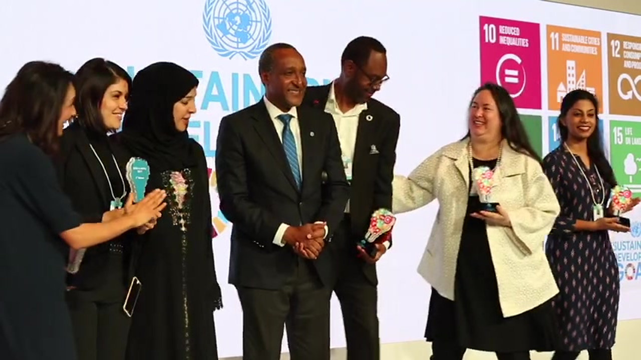 The SDG3 team at the World Government Summit 2017