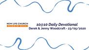 10@10 - 23/05 - Derek & Jenny Woodcraft