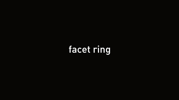 facet ring final